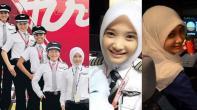 noor-hafizah-berjilbab-pilot-maskapai-airasia-malaysia-air-asia-x