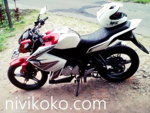 Modifikasi Pemasangan Half Fairing Z250 dan Cover Head Lamp Untuk New Vixion, Ganteng Naik 200 % Kang Bro !!!!