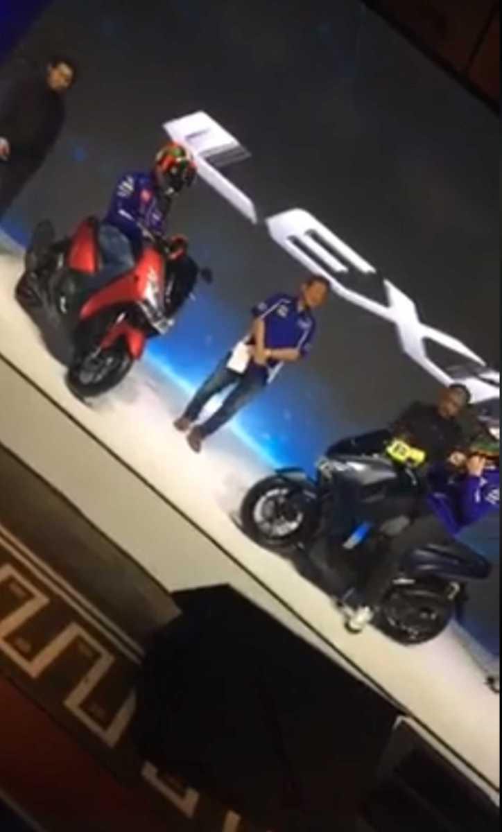 Diam-Diam Valentino Rossi dan Maverick Vinales Launching Yamaha Lexi 125 VVA Di Indonesia!